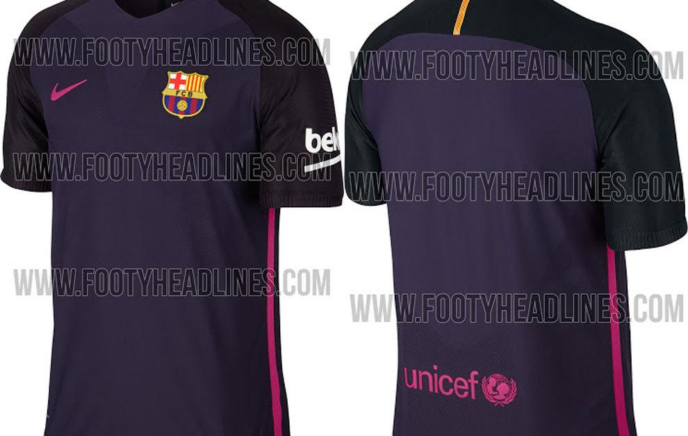 66493b6e2d2b9 FC Barcelona  ¿Es esta la nueva segunda equipación del Barça ...