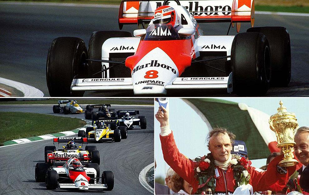 1984. Niki Lauda (McLaren-TAG)