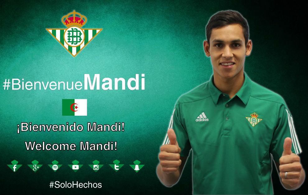 Aïssa Mandi, nuevo jugador del Betis