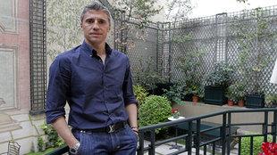 Hernán Crespo posa para MARCA durante un reportaje.