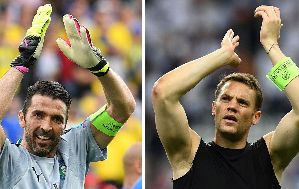 Alemania vs Italia en directo