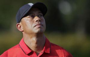 Tiger Woods, durante el Quicken Loans disputado la semana pasada en el...