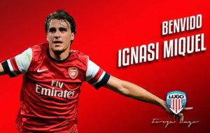 Ignasi Miquel, nuevo jugador del Lugo.