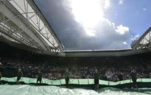 El techo de la central de Wimbledon
