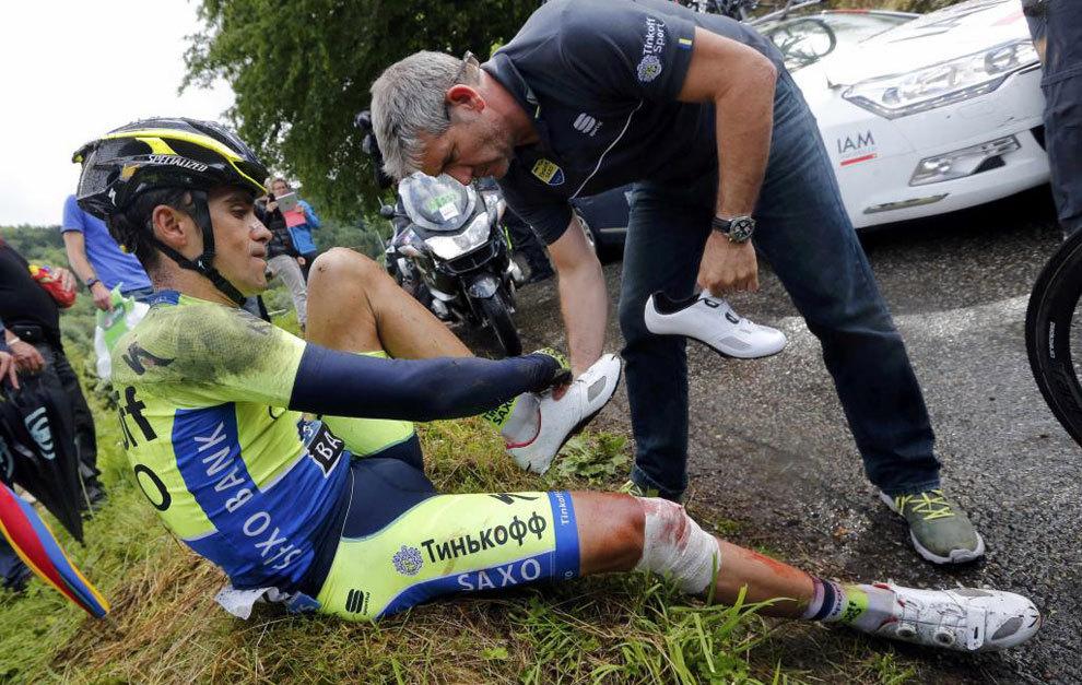 El gafe de Contador