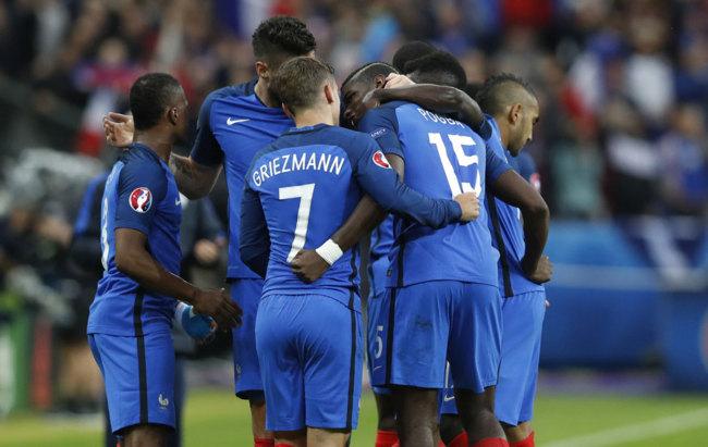 Francia vs Islandia en directo