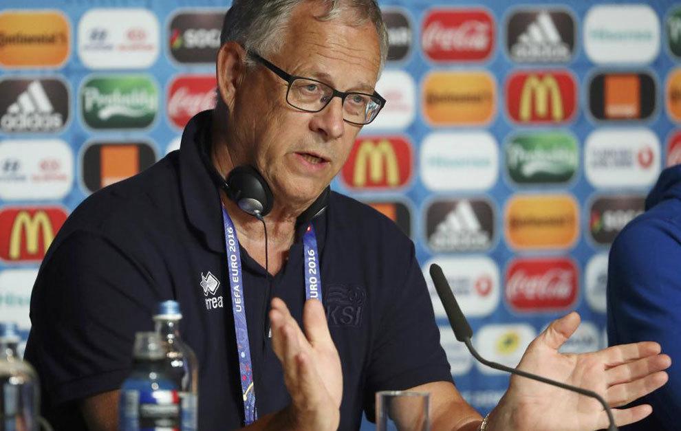 Lars Lagerback ha obtenido el mayor éxito futbolístico de Islandia.