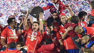 Chile levanta su primera Copa América, el 4 de julio de 2015