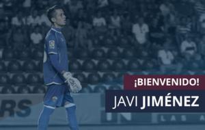 El Huesca da la bienvenida a su nuevo portero Javi Jim�nez.
