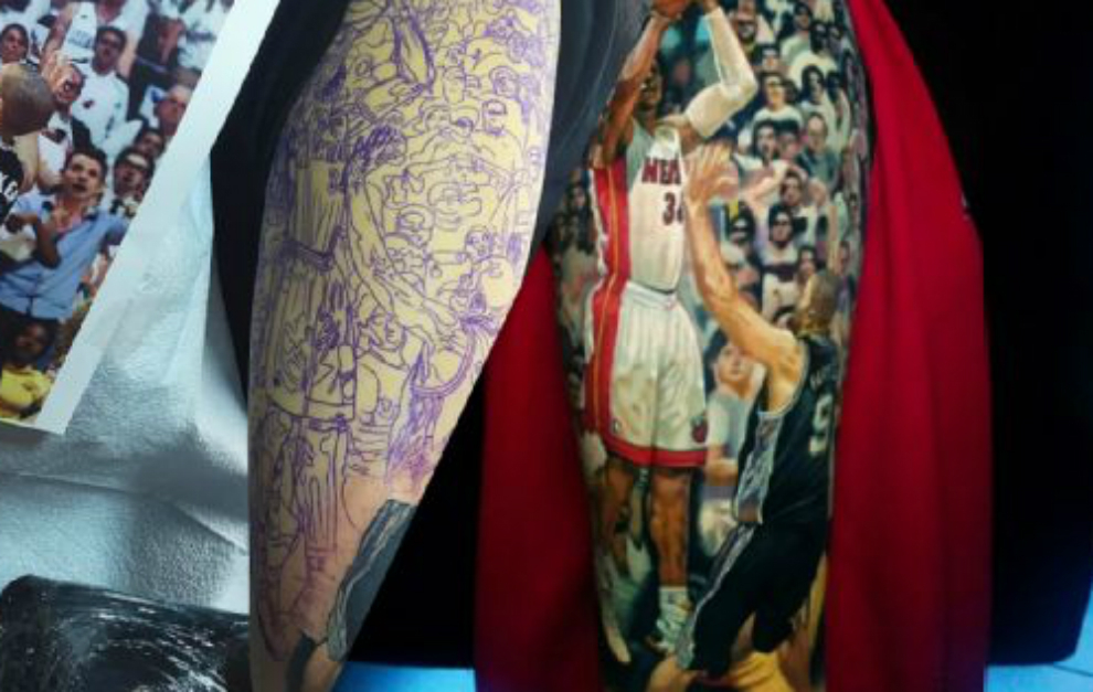 Nba Es Este El Mejor Tatuaje De Toda La Historia Marcacom