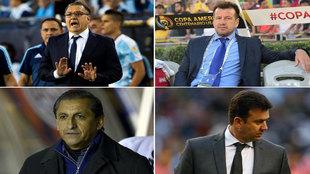 Los cuatro entrenadores que dejaron su puesto luego de la Copa...