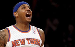 Carmelo Anthony, jugador de los Knicks