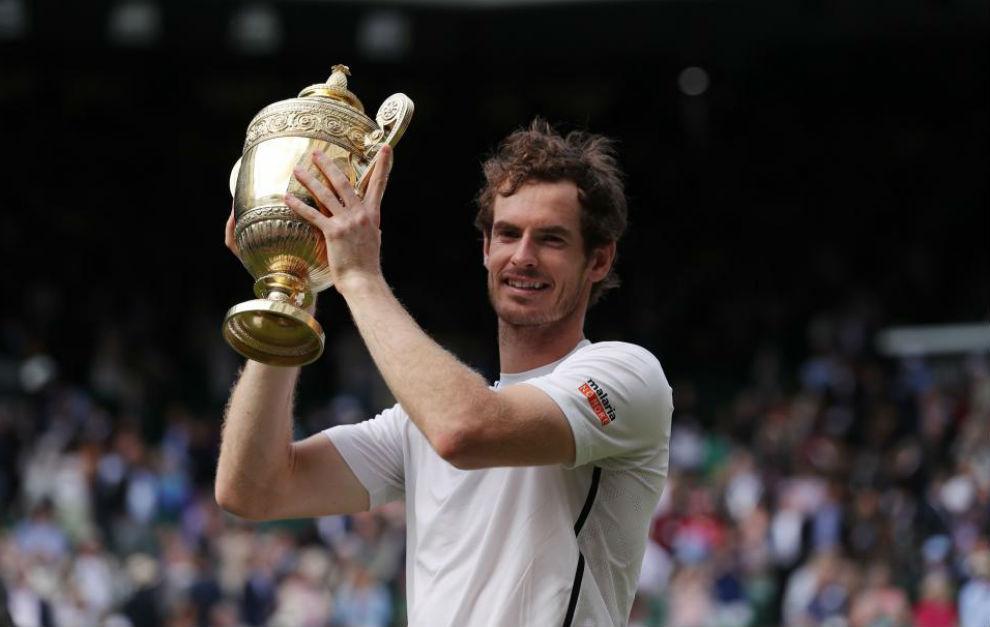 Murray, con el trofeo de campeón