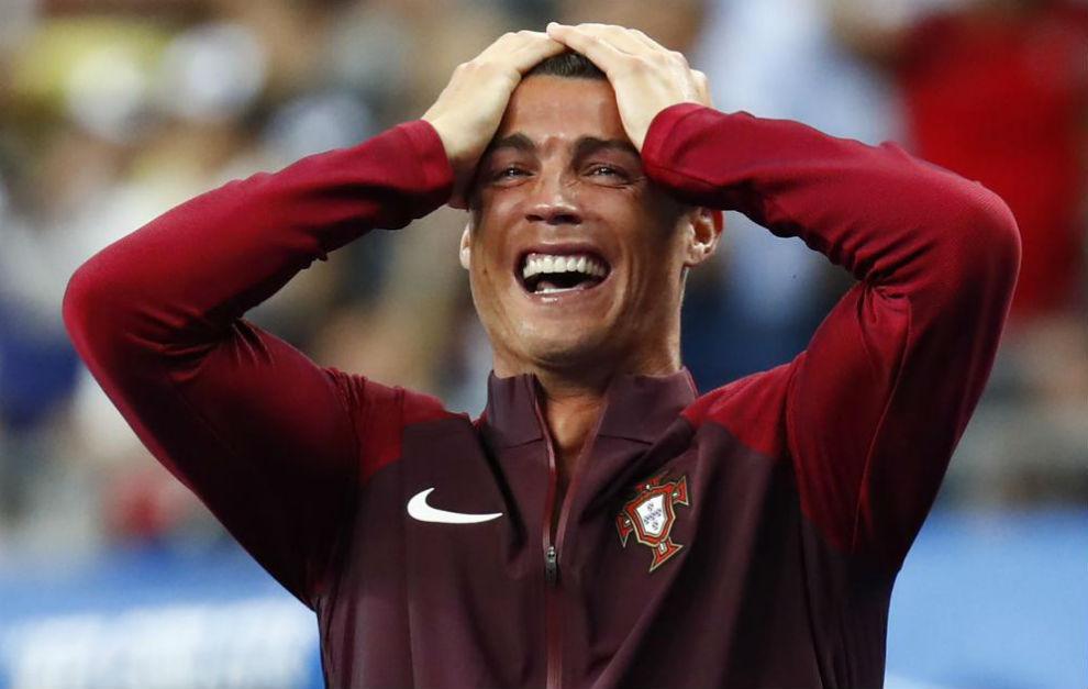 Cristiano llora tras el gol de Éder