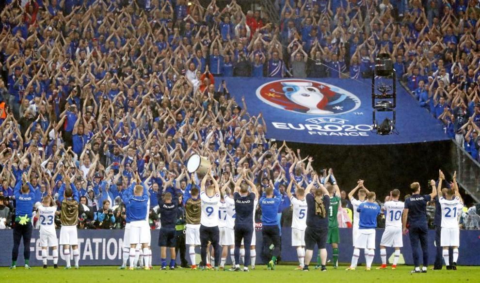Sin duda, la revelación del torneo. Islandia encandiló a todos los...