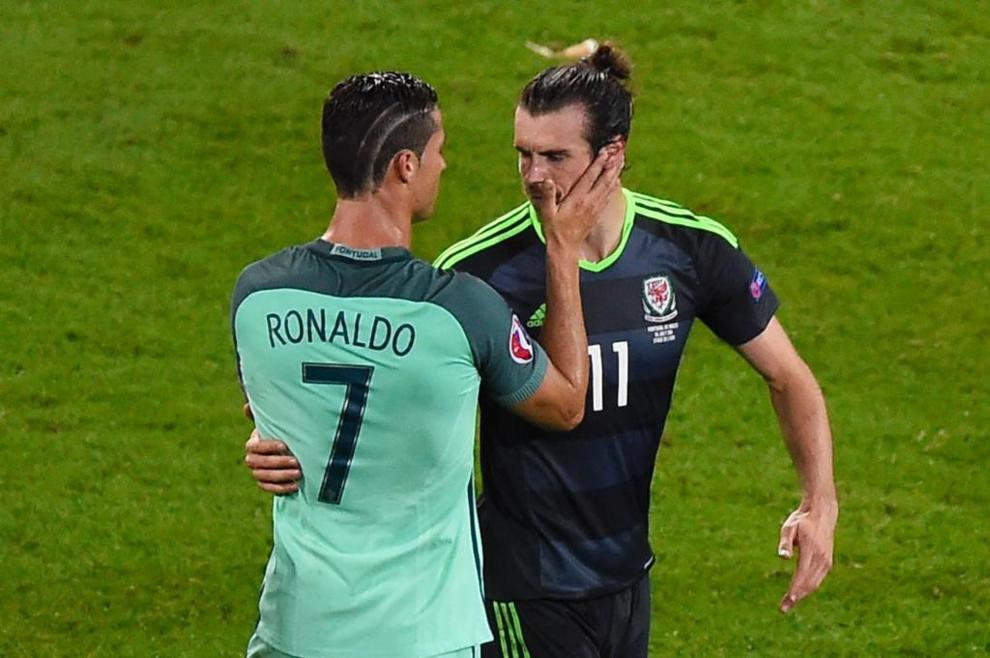 Cristiano Ronaldo y Gareth Bale demostraron su gran amistad en el...
