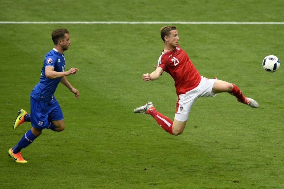 Islandia doblegó a Austria en el último encuentro de la fase de...