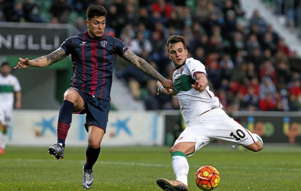 Jesús Valentín ya estuvo en Huesca como cedido por Las Palmas.