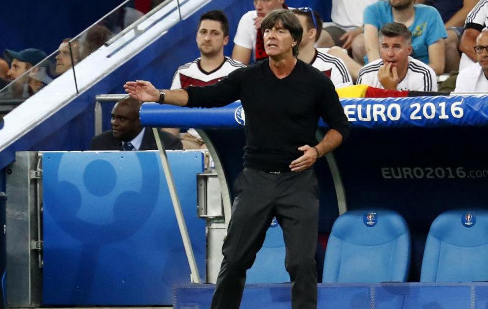 Löw, durante la Eurocopa.
