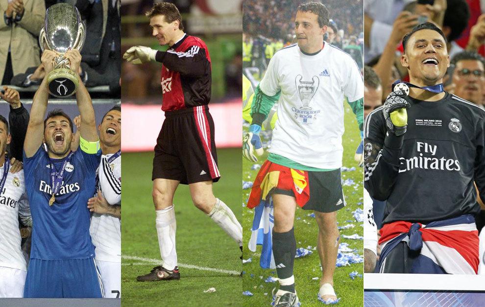 Casillas, Illgner, César y Keylor.