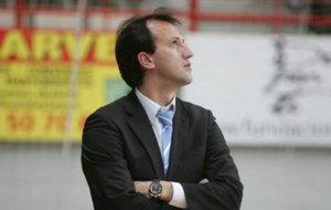 Santi Herrero en su etapa como entrenador del D-Link