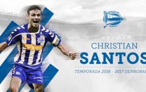 Christian Santos, nuevo jugador del Alav�s.