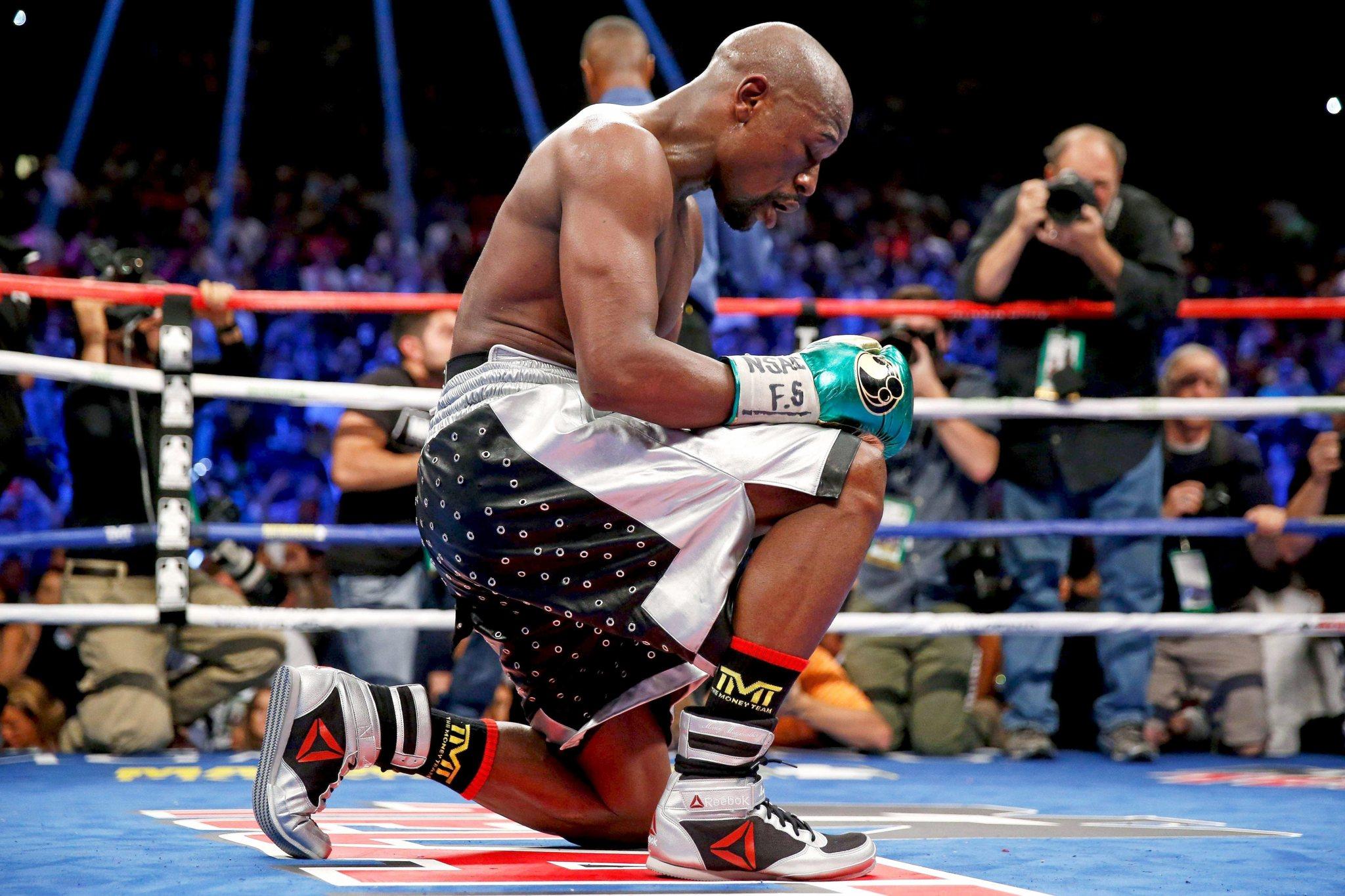 El boxeador Floyd Mayweather