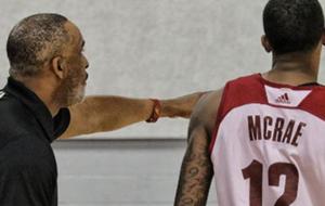Jordan McRae jugando con los Cavaliers Las Vegas Summer League
