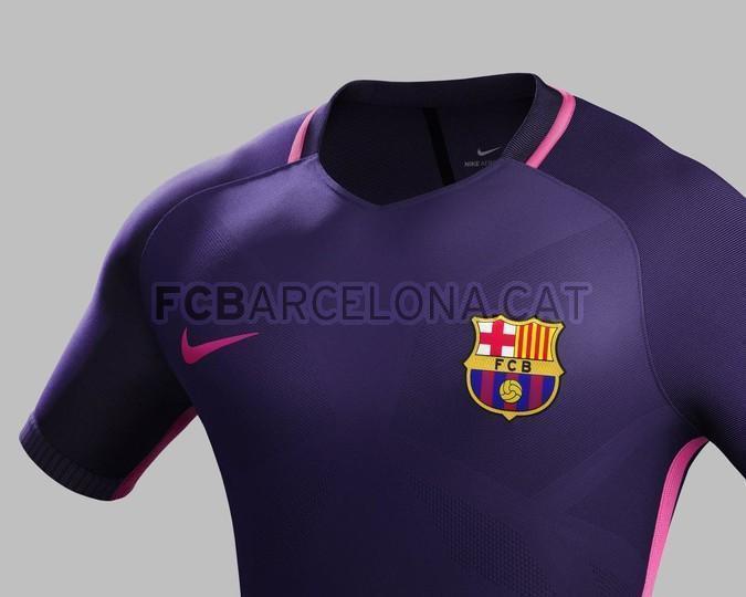 La segunda equipación del Barcelona 8f211350fdd95