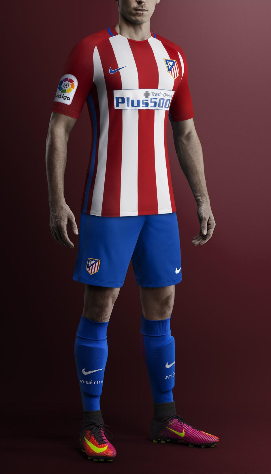 uniforme Atlético de Madrid hombre
