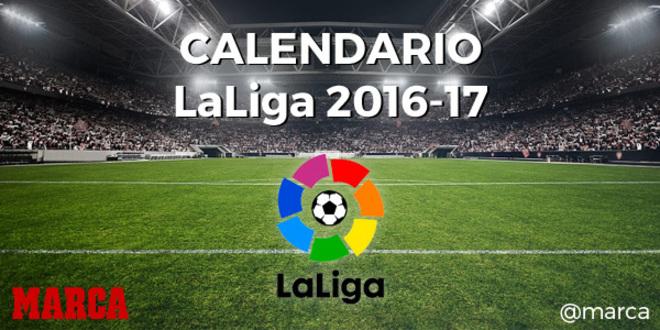 comprar genuino últimas tendencias de 2019 nueva alta calidad Calendario Liga: El sorteo del calendario de LaLiga 2016 ...
