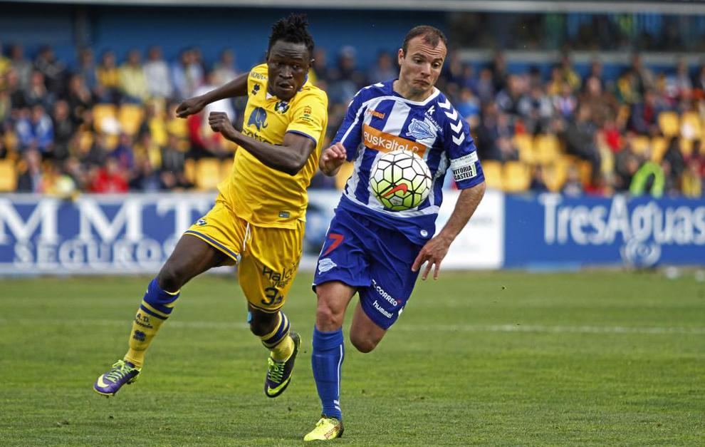 Juli consiguió el ascenso el curso pasado con el Alavés.