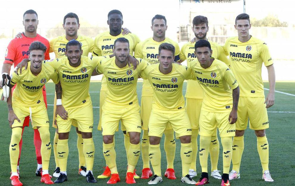 El Villarreal estrenó la pretemporada ante el L' Hospitalet
