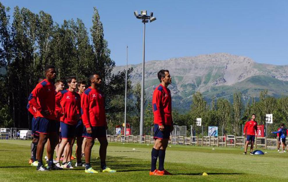 El Huesca permanecerá en Benasque hasta el martes.