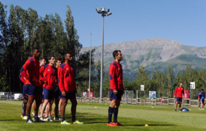 El Huesca permanecer� en Benasque hasta el martes.