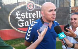 Luis C�sar atendi� a la prensa tras la victoria ante el Celta (1-2).
