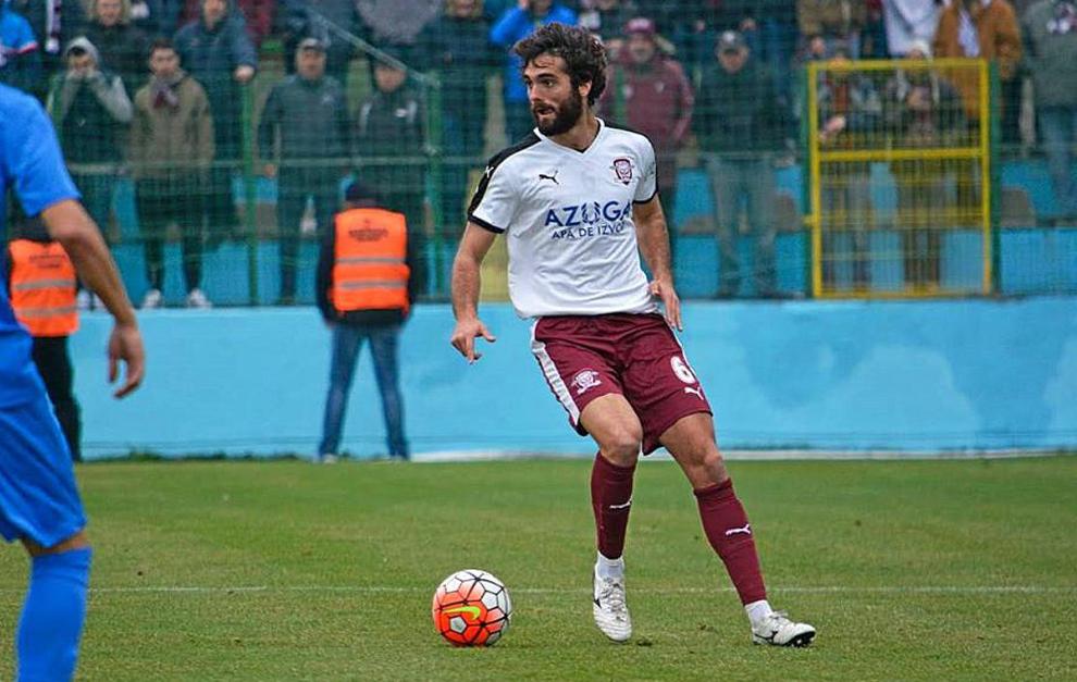 El jugador cordorbés estuvo los últimos meses en Rumanía.