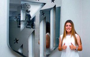 Foto de la jugadora del Atl�tico de Madrid, Carmen Menayo