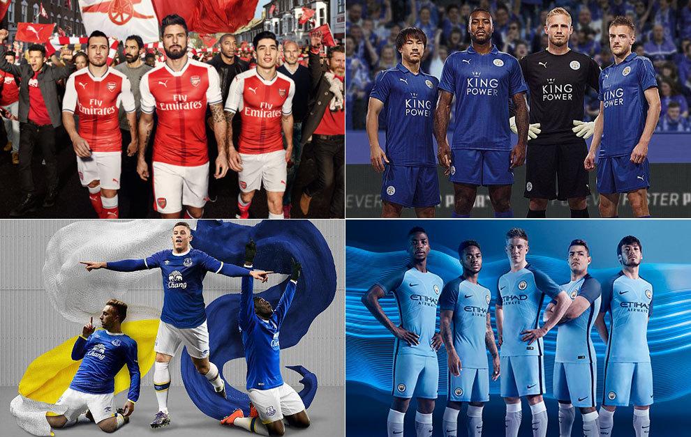 Las camisetas de la Premier League 2016-17 -Los clubes de inglaterra ya  tienen sus camisetas...  5ac6eaaf941