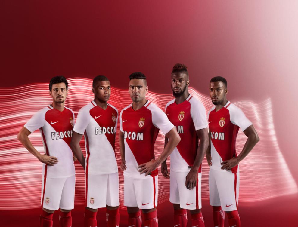 camisetas de futbol AS Monaco modelos