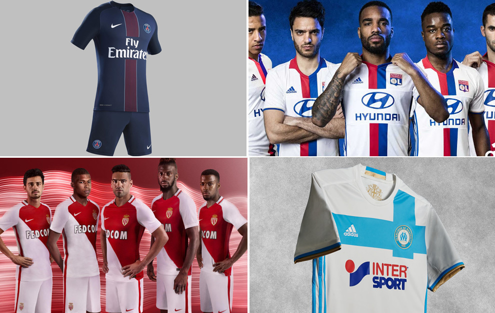 Las nuevas camisetas de la Liga francesa - Foto 1 de 19  23b9f7c8c5557