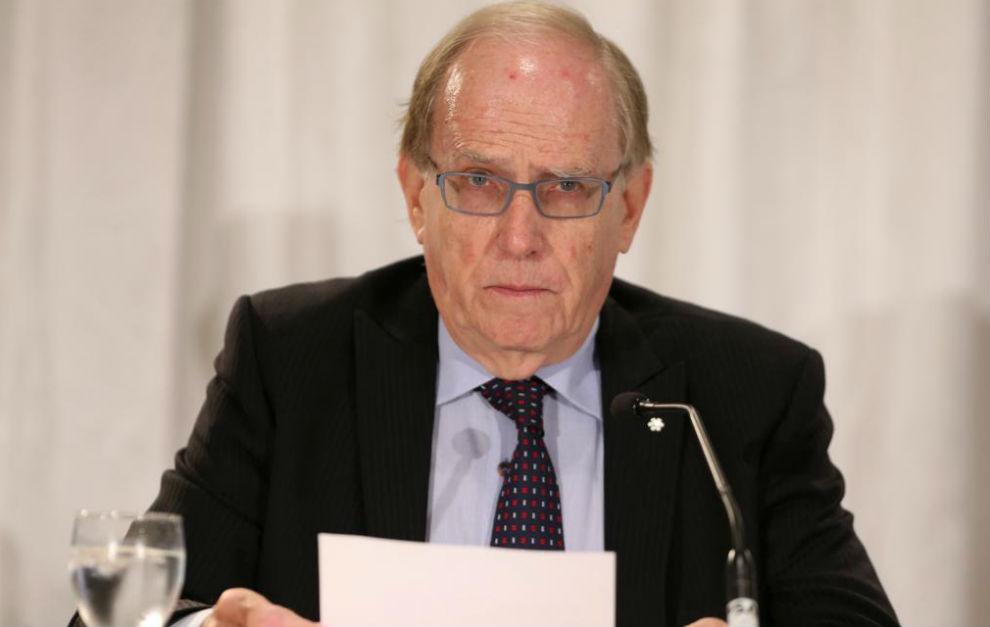 Richard McLaren, en la presentación del informe