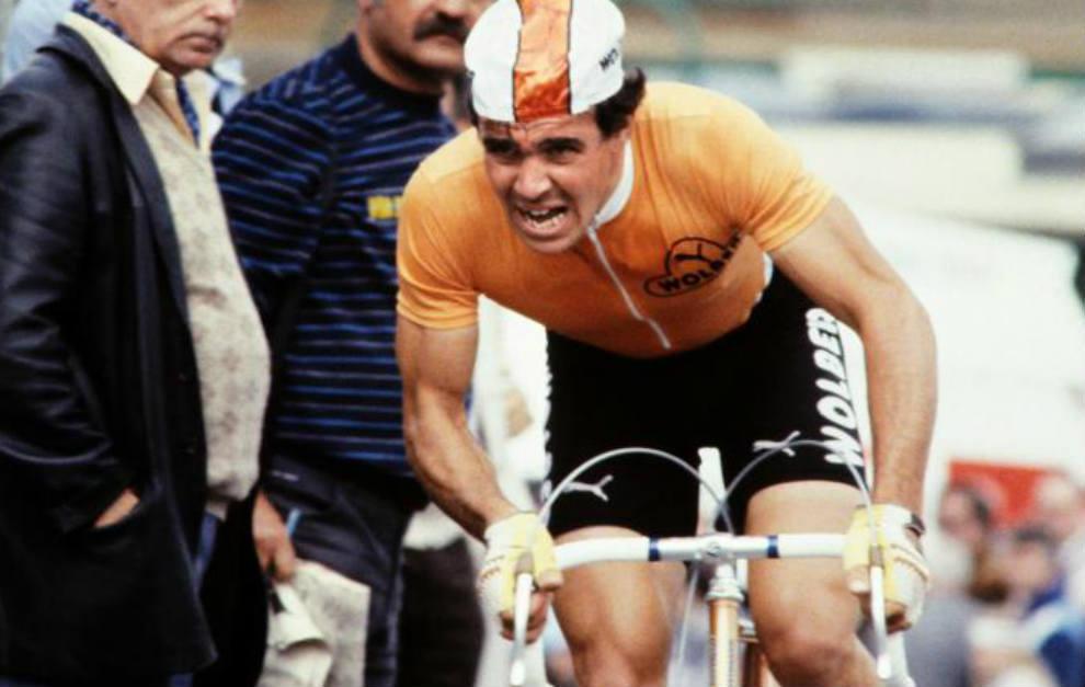 Dominique Arnaud, en un etapa del Tour de Francia