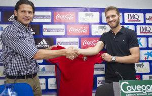 Fausto Tierza ha firmado con Osasuna por dos temporadas. /