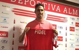 Fidel ya luce con la camiseta rojiblanca de su nuevo equipo