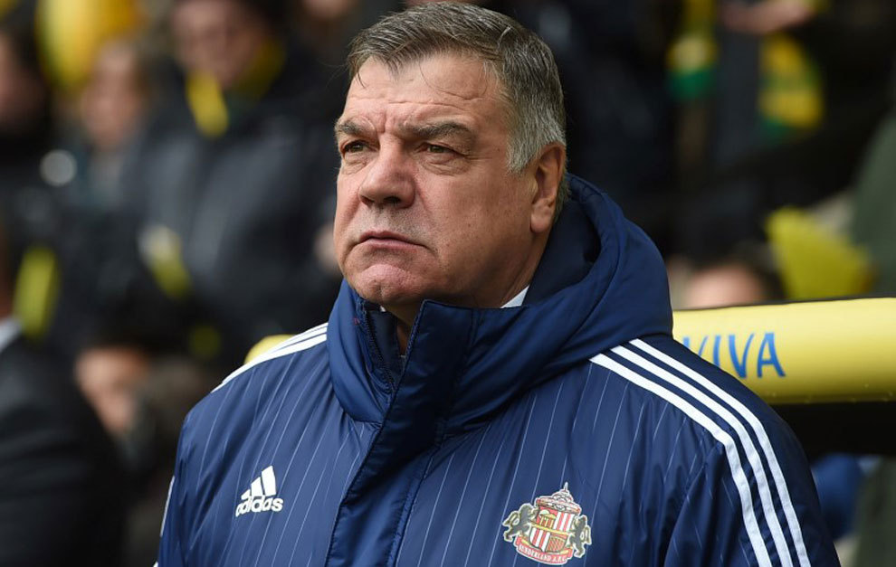 Sunderland manager Sam Allardyce during a match