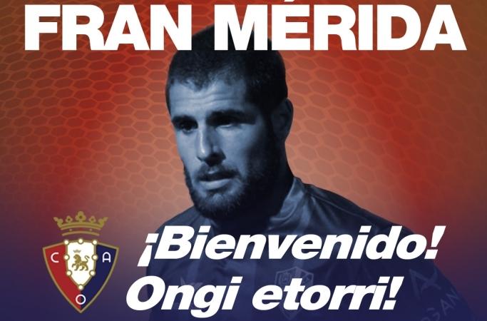 Fran Mérida jugará la próxima temporada en Primera División. /