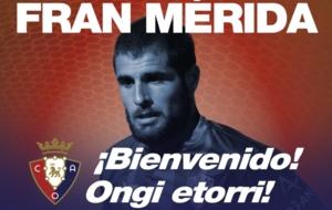 Fran M�rida jugar� la pr�xima temporada en Primera Divisi�n. /