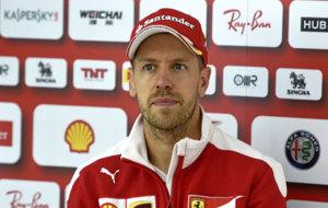 Vettel, duranta el Gran Premio de Gran Breta�a