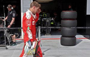 Vettel, despu�s de los entrenamientos libres